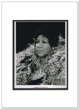 Aretha Franklin Autograph Signed Photo The Queen Of Soul
